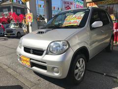 沖縄の中古車 スズキ Kei 車両価格 35万円 リ済込 平成21年 5.6万K シルバー