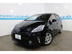 沖縄の中古車 トヨタ プリウスアルファ 車両価格 147万円 リ済別 平成25年 7.9万K ブラック