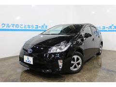 沖縄の中古車 トヨタ プリウス 車両価格 145万円 リ済別 平成25年 4.2万K ブラック