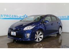 沖縄の中古車 トヨタ プリウス 車両価格 107万円 リ済別 平成22年 6.4万K ブルー