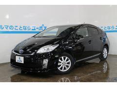 沖縄の中古車 トヨタ プリウス 車両価格 108万円 リ済別 平成22年 7.4万K ブラック