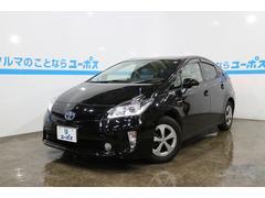 沖縄の中古車 トヨタ プリウス 車両価格 129万円 リ済別 平成25年 7.7万K ブラック