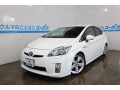 沖縄の中古車 トヨタ プリウス 車両価格 105万円 リ済別 平成22年 6.7万K スーパーホワイトII
