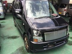 沖縄の中古車 スズキ ワゴンR 車両価格 26万円 リ済込 平成17年 12.2万K ブラック