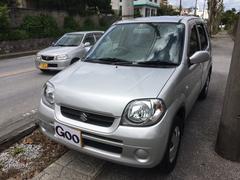 沖縄の中古車 スズキ Kei 車両価格 25万円 リ済込 平成19年 4.3万K シルバー