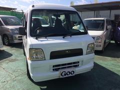 沖縄の中古車 スバル サンバーバン 車両価格 29万円 リ済込 平成16年 9.7万K ホワイト