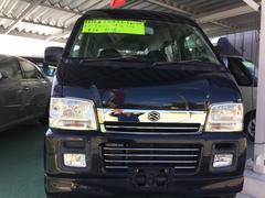 沖縄の中古車 スズキ エブリイワゴン 車両価格 30万円 リ済込 平成15年 7.7万K ブラック