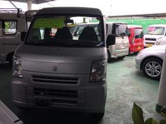 沖縄の中古車 スズキ エブリイ 車両価格 35万円 リ済込 平成22年 11.7万K シルバー
