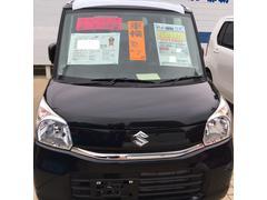 沖縄の中古車 スズキ スペーシア 車両価格 140万円 リ済込 平成29年 3K ブルーイッシュブラックパール