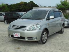 沖縄の中古車 トヨタ イプサム 車両価格 18万円 リ済別 平成14年 5.3万K シルバー