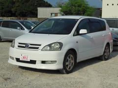沖縄の中古車 トヨタ イプサム 車両価格 18万円 リ済別 平成14年 5.7万K ホワイト