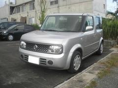 沖縄の中古車 日産 キューブ 車両価格 39.8万円 リ済込 平成20年 8.8万K シルバー