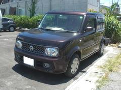 沖縄の中古車 日産 キューブ 車両価格 39.8万円 リ済込 平成19年 8.1万K ビターショコラP