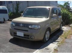 沖縄の中古車 日産 キューブ 車両価格 59.8万円 リ済込 平成21年 6.0万K クラフトダンボールM