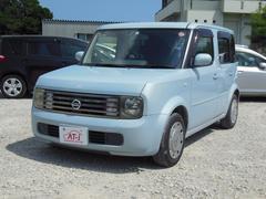 沖縄の中古車 日産 キューブ 車両価格 15万円 リ済別 平成16年 9.5万K エアブルーPM