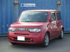沖縄の中古車 日産 キューブ 車両価格 59.8万円 リ済込 平成21年 6.5万K ルミナスレッドM