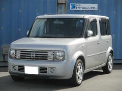 沖縄の中古車 日産 キューブ 車両価格 29.8万円 リ済込 平成16年 3.8万K ダイヤモンドシルバーM