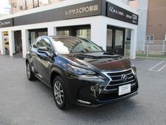 沖縄の中古車 レクサス NX 車両価格 495万円 リ済込 平成27年 0.2万K グラファイトブラックガラスフレーク