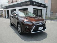 沖縄の中古車 レクサス RX 車両価格 555万円 リ済別 平成27年 3.4万K アンバークリスタルシャイン