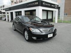 沖縄の中古車 レクサス LS 車両価格 350万円 リ済別 平成23年 5.8万K ブラック