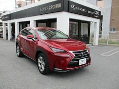 沖縄の中古車 レクサス NX 車両価格 449万円 リ済別 平成28年 0.9万K レッドマイカクリスタルシャイン