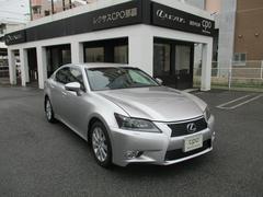 沖縄の中古車 レクサス GS 車両価格 339万円 リ済別 平成24年 5.0万K ソニックシルバー