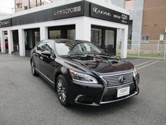 沖縄の中古車 レクサス LS 車両価格 668万円 リ済別 平成25年 6.1万K ブラックオパールマイカ
