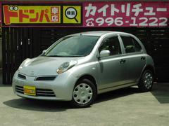 沖縄の中古車 日産 マーチ 車両価格 19万円 リ済込 平成19年 6.4万K シルバー