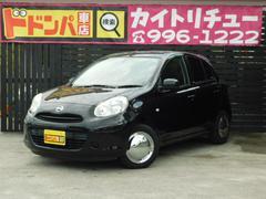 沖縄の中古車 日産 マーチ 車両価格 53万円 リ済込 平成25年 8.4万K ブラック