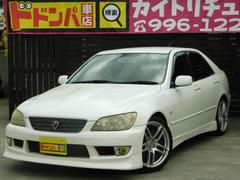 沖縄の中古車 トヨタ アルテッツァ 車両価格 45万円 リ済込 平成14年 16.2万K ホワイト