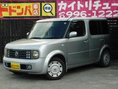 沖縄の中古車 日産 キューブ 車両価格 14万円 リ済込 平成15年 14.0万K シルバー