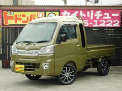 沖縄の中古車 ダイハツ ハイゼットトラック 車両価格 109.6万円 リ済込 新車  オフビートカーキメタリック