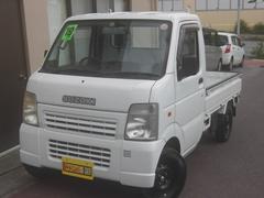 沖縄の中古車 スズキ キャリイトラック 車両価格 46万円 リ済込 平成19年 9.0万K ホワイト