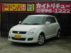 沖縄の中古車 スズキ スイフト 車両価格 29万円 リ済別 平成22年 13.7万K パールホワイト