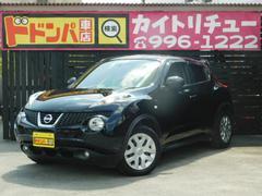 沖縄の中古車 日産 ジューク 車両価格 118万円 リ済別 平成25年 3.4万K ブラックM