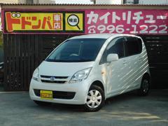 沖縄の中古車 ダイハツ ムーヴ 車両価格 25万円 リ済別 平成19年 12.4万K パールM