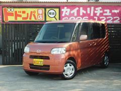 沖縄の中古車 ダイハツ タント 車両価格 35万円 リ済別 平成21年 12.7万K ダークレッド