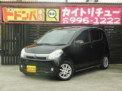 沖縄の中古車 ダイハツ ミラカスタム 車両価格 35万円 リ済別 平成23年 9.2万K ブラックM