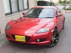 沖縄の中古車 マツダ RX−8 車両価格 25万円 リ済別 平成19年 7.0万K レッドM