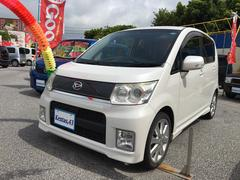 沖縄の中古車 ダイハツ ムーヴ 車両価格 53万円 リ済込 平成21年 11.9万K パールホワイト