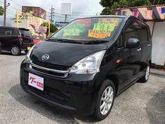 沖縄の中古車 ダイハツ ムーヴ 車両価格 53万円 リ済込 平成24年 11.1万K ブラック