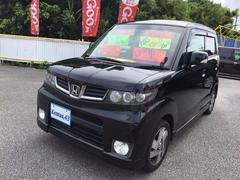 沖縄の中古車 ホンダ ゼストスパーク 車両価格 53万円 リ済込 平成23年 9.3万K 黒