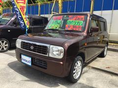沖縄の中古車 スズキ アルトラパン 車両価格 34万円 リ済込 平成19年 12.0万K 茶