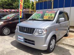 沖縄の中古車 三菱 eKワゴン 車両価格 34万円 リ済込 平成23年 11.6万K シルバー