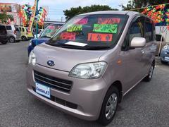 沖縄の中古車 スバル ルクラ 車両価格 52万円 リ済込 平成22年 11.2万K ピンク