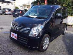 沖縄の中古車 スズキ ワゴンR 車両価格 52万円 リ済込 平成24年 11.2万K ブルーイッシュブラックパール3