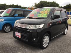 沖縄の中古車 スズキ ワゴンRスティングレー 車両価格 55万円 リ済込 平成22年 9.6万K ブラックパール