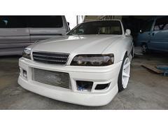 沖縄の中古車 トヨタ チェイサー 車両価格 98万円 リ済込 平成8年 走不明 ホワイト