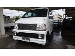 沖縄の中古車 ダイハツ ハイゼットカーゴ 車両価格 24万円 リ済込 平成15年 14.6万K ホワイト