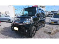 沖縄の中古車 ホンダ N BOXカスタム 車両価格 80万円 リ済込 平成24年 8.5万K ブラック